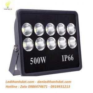 Đèn led pha 500w ip66