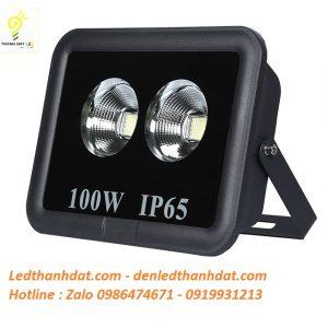 Đèn led pha rọi 100w ip65