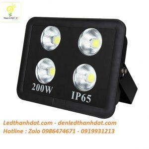 Đèn led pha rọi 200w ip65