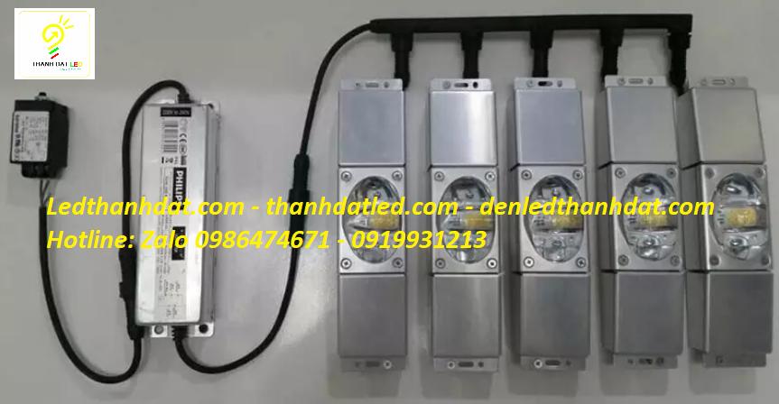 đèn đường led philips module halumos