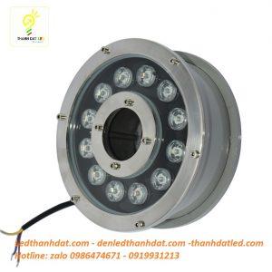 đèn led âm nước 12w bánh xe
