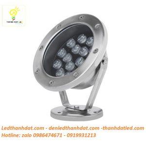 đèn led âm nước 15w