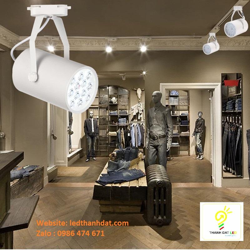đèn led rọi ray shop cửa hàng showroom