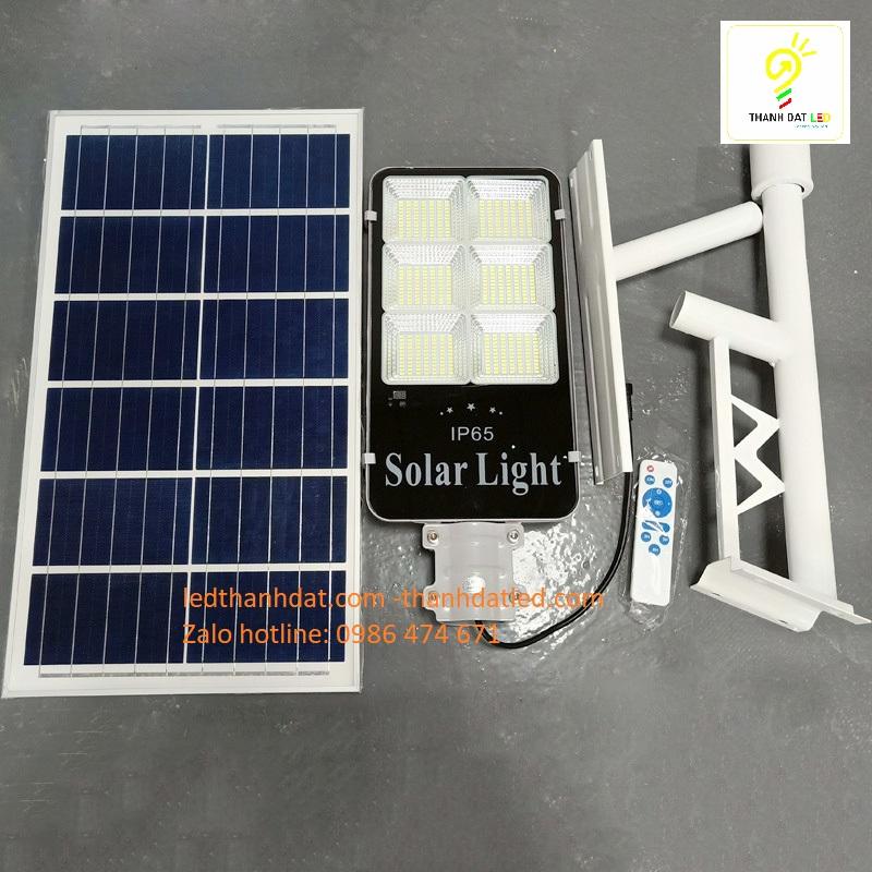 đèn đường led năng lượng mặt trời 300w