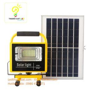 đèn pha xách tay năng lượng mặt trời 25w