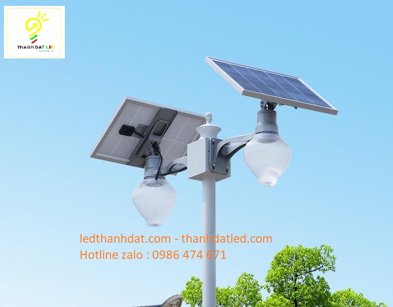 đèn trang trí sân vườn công viên năng lượng mặt trời