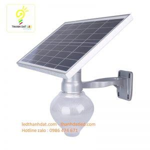 đèn treo tường sân vườn năng lượng mặt trời qd 60w