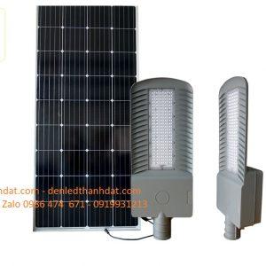 đèn đường năng lượng mặt trời 100w nhôm đúc cao cấp