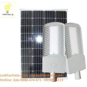 đèn đường năng lượng mặt trời 120w nhôm đúc cao cấp