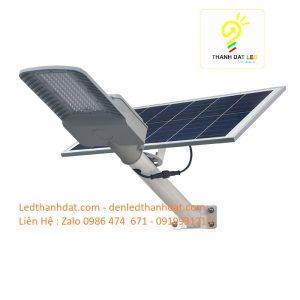đèn đường năng lượng mặt trời 50w nhôm đúc cao cấp