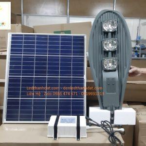 đèn đường năng lượng mặt trời pin rời 150w