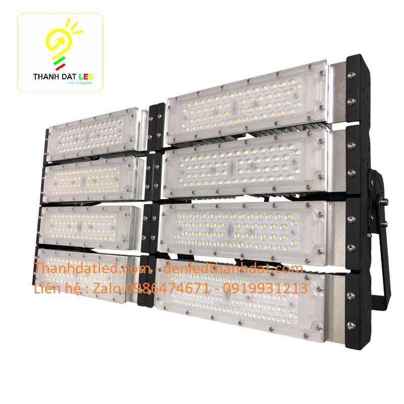 đèn pha led module 400w chống chói lóa Philips