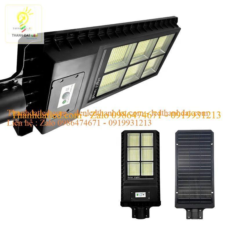 đèn đường năng lượng mặt trời liền thể 60w 120w 180w