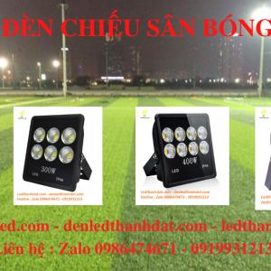 đèn led sân bóng đá 200w 300w 400w 500w