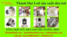 tổng hợp mẫu đèn xưởng
