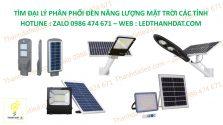 tuyển đại lý nhà phân phối đèn led năng lượng mặt trời